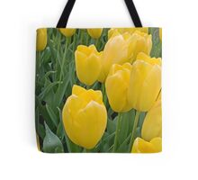 Yellow Tulips Tote Bag