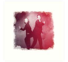 Dancin' Agents Art Print