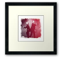 Dancin' Agents Framed Print
