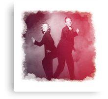Dancin' Agents Canvas Print