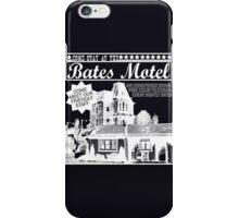 Bates Motel - White Type iPhone Case/Skin