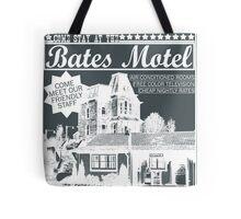 Bates Motel - White Type Tote Bag