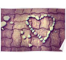 Heart - JUSTART © Poster