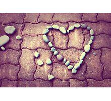 Heart - JUSTART © Photographic Print