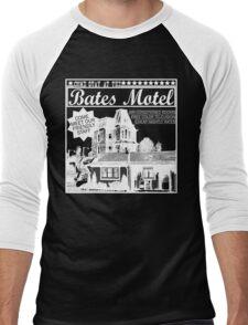 Bates Motel - White Type Men's Baseball ¾ T-Shirt