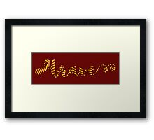 Where Dwell The Brave At Heart Framed Print