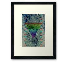 Ash Rainbow. Framed Print