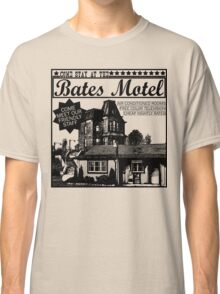 Bates Motel - Black Type Classic T-Shirt