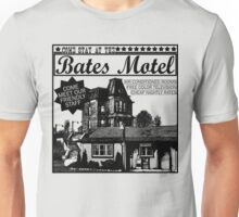Bates Motel - Black Type Unisex T-Shirt