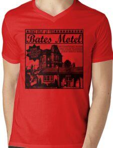 Bates Motel - Black Type Mens V-Neck T-Shirt