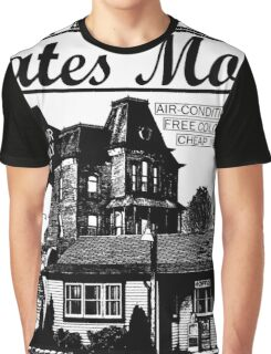 Bates Motel - Black Type Graphic T-Shirt