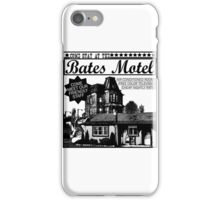 Bates Motel - Black Type iPhone Case/Skin