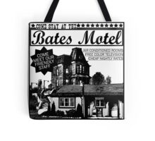 Bates Motel - Black Type Tote Bag