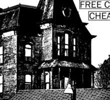 Bates Motel - Black Type Sticker