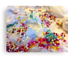Sprinkles Close up #1 Canvas Print