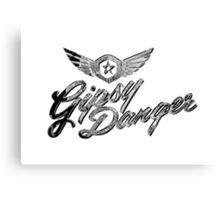 Gipsy Danger Chrome Logo Canvas Print