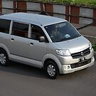 silver colored suzuki APV by bayu harsa