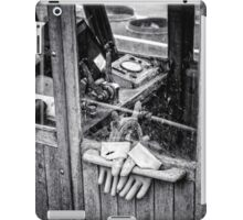 fishing gloves iPad Case/Skin