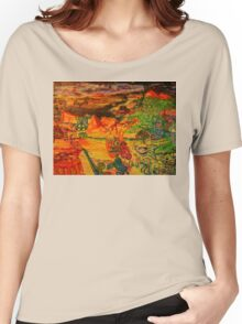 Rob Gamble and Glenn Prior's Quest for Truth copy right 2011 Women's Relaxed Fit T-Shirt