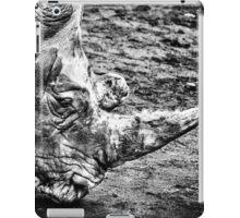 head of a rhinoceros iPad Case/Skin