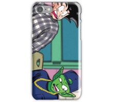 Goku and Piccolo Friday iPhone Case/Skin