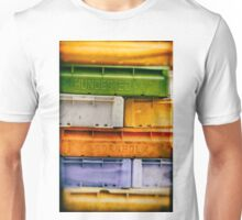 colorful fishing cases Unisex T-Shirt