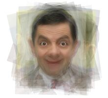 Mr. Bean Rowan Atkinson Portrait Photographic Print
