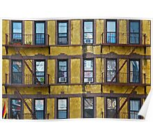 Apartments on the High Line Poster