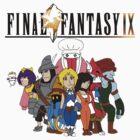 Final Fantasy 9 Characters by KewlZidane
