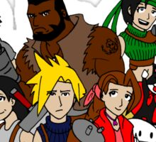 FF7 Characters Sticker
