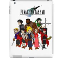 FF7 Characters iPad Case/Skin