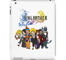 Final Fantasy 10 Characters iPad Case/Skin