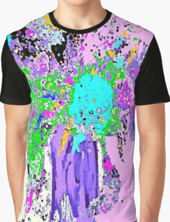 Flower Spring Floral Abstract Graphic T-Shirt