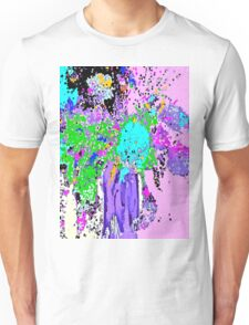Flower Spring Floral Abstract Unisex T-Shirt