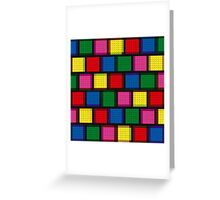 Modul design-colorful Greeting Card