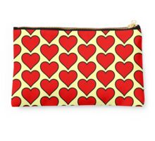 Red Hearts Studio Pouch