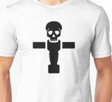 Foosball skull Unisex T-Shirt