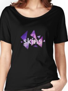 Skins UK Logo Women's Relaxed Fit T-Shirt