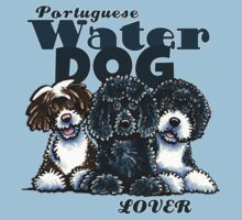 Portuguese Water Dog Lover Kids Clothes