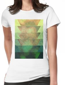 Bokeh Oceanic Womens Fitted T-Shirt