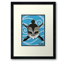 sokka the warrior Framed Print