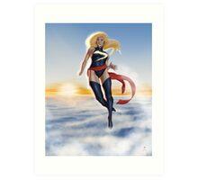 Ms. Marvel Art Print