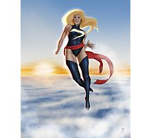 Ms. Marvel Photographic Print