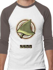shark steak Men's Baseball ¾ T-Shirt