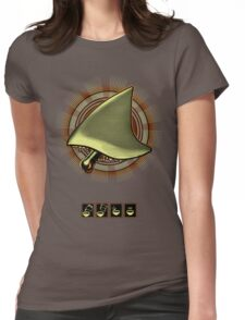 shark steak Womens Fitted T-Shirt