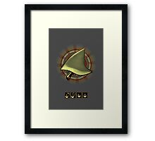 shark steak Framed Print