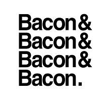 Bacon And Photographic Print