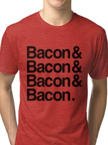 Bacon And Tri-blend T-Shirt