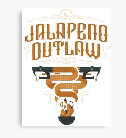Jalapeno Outlaw SNAKE Canvas Print