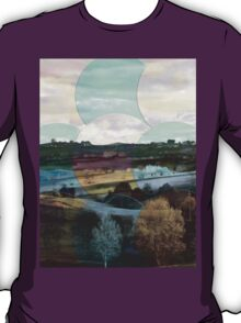 All About Italy. Tuscany Landscape 4 T-Shirt